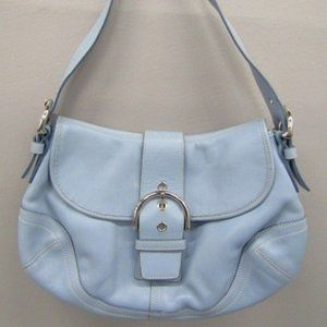 Coach (authenticated) light blue bag